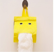 THk & M Cloth colour colourful paper towel draw elf lovely paper towel rack, yellow