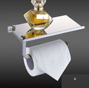 THk & M 304 stainless steel mobile phone paper towel frame creative toilet paper box, A