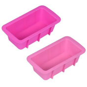 VESNIBA Silicone Bread Loaf Cake Mould Non Stick Bakeware Baking Pan Oven Rectangle Mould