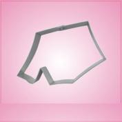 Tent Cookie Cutter 5.1cm - 1.3cm by 10cm - 1.3cm aluminium