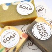 Wakehurst Handmade Soap Stickers Labels - Soap Gift, 5sheet 30pcs