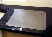 Stainless Steel Worktop Saver (Includes non slip rubber feet)