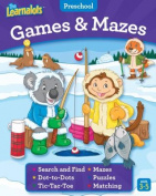The Learnalots Preschool Games & Mazes Ages 3-5