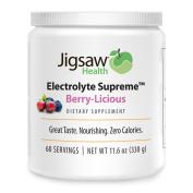 Jigsaw Health - Electrolyte Supreme - Berry-Licious Jar - 60 Servings