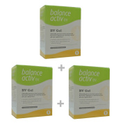 (3 PACK) - Balance Activ Lactic Acid Gel For Bacterial Vaginosis | 7 Applicator Applicators | 3 PACK - SUPER SAVER - SAVE MONEY