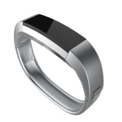 Stainless Steel Watch Band For Fitbit Alta HR ,Tuscom