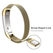 Magnetic Loop Stainless Steel Smart Watch Band For Fitbit Alta HR- 140-215mm ,Tuscom