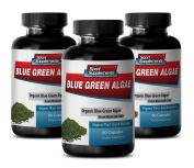 Natural Green Superfood from Klamath Lake for Skin Care - Blue Green Algae 500mg