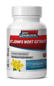 Nervous fatigue - ST JOHN'S WORT EXTRACT for POSITIVE MOOD and WELL-BEING - St. John's Wort, Siberian Eleutherococcus, Gingkgo Biloba - 1 Bottle 60 Capsules