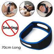 JJOnlineStore - Adjustable Unisex Anti Snoring Jaw Chin Strap Belt New Comfort Fit Stop Snoring Device Head Holder Rest Good Night Sleep