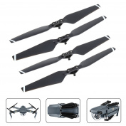 4 Pieces Quick Release Props Folding Propellers for DJI Mavic Pro By Mibote, White Stripes