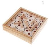 Pizies 3D Maze Kids Educational Toys Children Wooden Puzzle Game