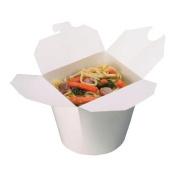 """Medium """"WHITE"""" 770ml Small Food Tub / Noodle Box"""