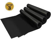 BBQ Grill Mat Set of 3 | Cookings Mats with Non-stick Surface 330 * 400 * 0.2 mm | For All Heat Sources | Dishwasher Safe | Barbecue Tool Sets |