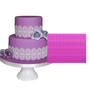 Food grade large lace mould, wedding cake around the decorative mould, large lace lace silicone pad, BLM-18