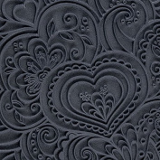 Cool Tools - Flexible Rollable Texture Tile - Blooming Hearts