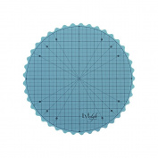 Lyfstyle Rotating Self Healing Cutting Mat / 36cm Round Turntable / Icy Blue