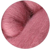 NZ Corriedale Wool Roving for Felting - 30ml Rose