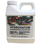 HYDROVATOR LIQUID HYDROGRAPHIC WATER TRANSFER ACTIVATOR hydro dip dipping 470ml