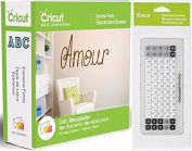 Cricut Extreme Fonts Cartridge + Universal Keypad Overlay
