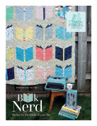 Angela Pingel Designs- Book Nerd Quilt Pattern, Finished size 140cm x 170cm