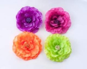 Camellia Brooch Pin (brights) By Shine Trim - Purple
