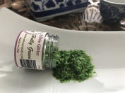 HOLLY GREEN METALLIC Edible Glitter flakes 30ml cakes, cupcakes, cookies By Oh! Sweet Art