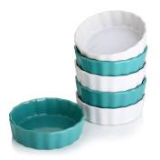 Lifver 150ml Ceramic Ramekins/Dip bowls, set of 6