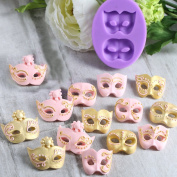 SK Venetian Mask Cake Silicone Mould for Cake Decorating Fondant Jelly Candy Chocolate Mould