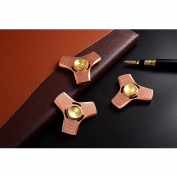 Red Copper Fidget Spinner Metal Hand Spinner Fidget Toys 5-7 Minutes Presentski