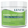 Eczema & Dermatitis Cream for Dry, Itchy, Cracked Skin Relief. Best Moisturiser Lotion for Face, Body & Scalp Rashes. 100% Natural Baby & Adult Remedy. Soothes Irritated Skin without Greasy Ointment