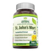 Herbal Secrets St. John's Wort 700 180 Capsules - Supports feelings of calm and relaxation* Helps maintain a positive mood*