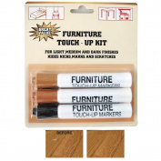 New ReStor It Furniture Touchup Markers Wood Repair Scratch Furniture 3 Piece !!