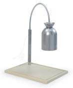Nemco (6016-C) Chrome Single Bulb Carving Station w/ Wood Base