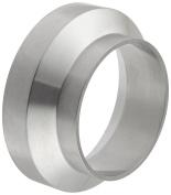 Dixon 15WI-G200 Stainless Steel 304 Sanitary Fitting, Female I-line Short Weld Ferrule, 5.1cm Tube OD