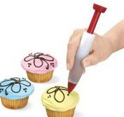 Yeah67886 Cake Cookie Decorating Syringe Cream Chocolate Pen Baking Tools