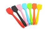 Yeah67886 Cream Cake Butter Spatula Mixing Stir Batter Scraper Brush Silicone Baking Tool