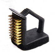 Right Angle Multi-function Cleaning Brush Wire Brush Copper Brush Barbecue Brush