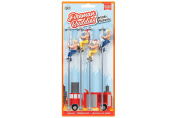 Fireman Buddies on a Pole Drink Stirrers Markers