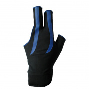 Felice Unisex Billards Gloves 3 Finger Gloves Pool Cue Gloves Left Hand