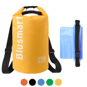 Blusmart 10L/20L Waterproof Dry Bags + Waterproof Waist Pouch, Perfect for Kayaking / Boating / Canoeing / Fishing / Rafting / Swimming / Camping / Snowboarding