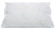 Bamboo Derived Rayon Shredded Memory Foam Bed Pillow - Down Alternative Hypoallergenic Hotel Quality Comfort by Panama Jack - Foam is Made and Filled in the USA