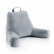 Ziraki Plush Shredded Foam Reading Relax Pillow for Bed Rest, Arm, Back, Lumbar & Head Support Cushion