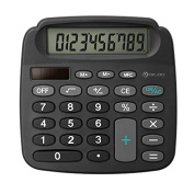 True Solar Power Energy Electronic Mini Calculator With High Definition LCD