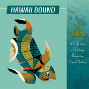 Hawaii 2018 Deluxe Wall Calendar - Hawaii Bound
