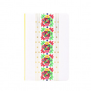 Doodle Tribe Vibe Notebook,UV - Paper Finish, Hard Cover,Ruled, 200 Pages, A5 (22cm X 14cm ) Inches