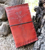 FABIYANO Embossed Celtic Dragon 23cm Handmade Leather Journal Diary Thought Book Bound Notebook Travel