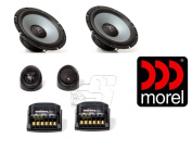 Morel Maximo Ultra 602 15cm - 1.3cm 2-Way Car Audio Component Speaker System