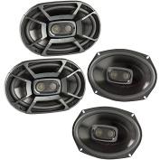 Polk 450 Watt 3-Way Car/Boat Coaxial Stereo Audio Speakers Marine DB692