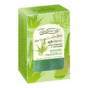Prim Perfect Clear Glycerin Soap. Extract, Aloe & Cucumber Formula Softens Skin Healthy. 80g.
